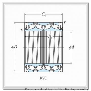 863rX3445a four-row cylindrical roller Bearing assembly