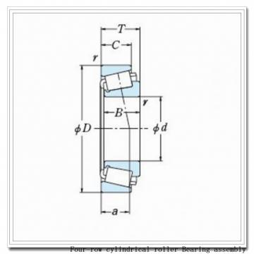 571rX2622 four-row cylindrical roller Bearing assembly