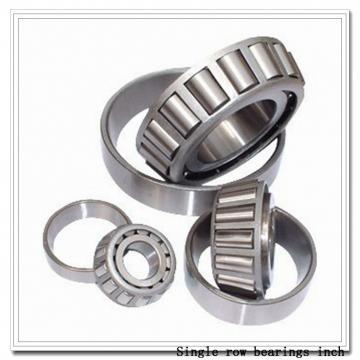 33124 Single row bearings inch