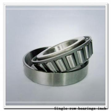 L580049/L580010 Single row bearings inch