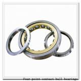 QJF332MB Four point contact ball bearings