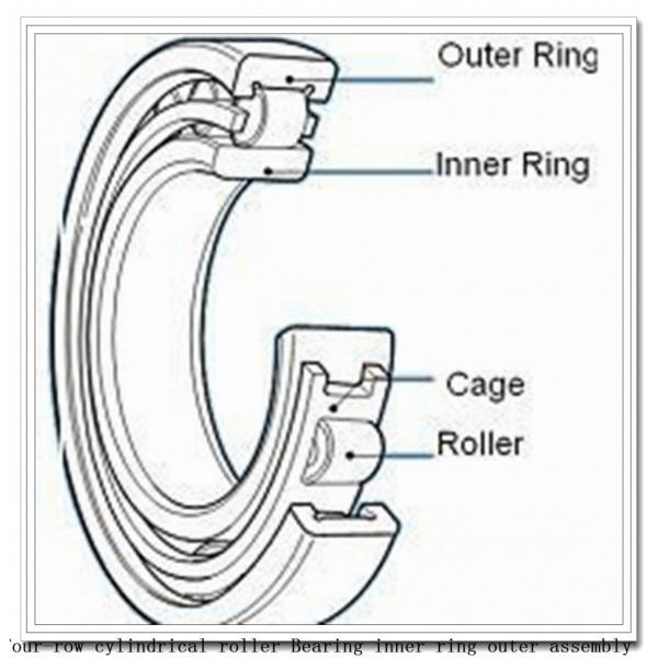 170ryl6462 four-row cylindrical roller Bearing inner ring outer assembly #1 image